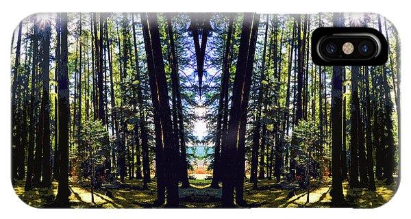 Wild Forest #1 IPhone Case