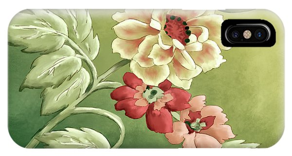 Shrub iPhone Case - Wild Roses by Lois Bryan