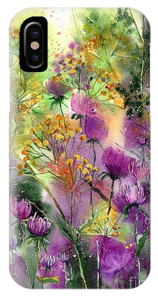 Perfume iPhone Case - Wild Tansy by Suzann Sines