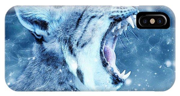 Lynx iPhone Case - Wildcat by ArtMarketJapan