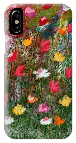Floral iPhone Case - Wildest Flowers 3- Art By Linda Woods by Linda Woods