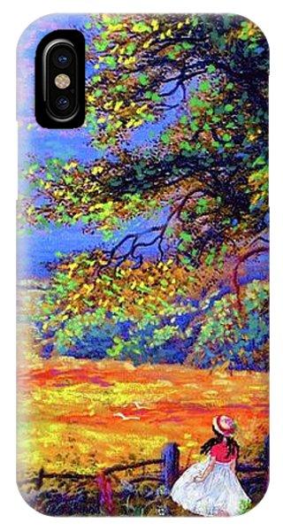 Carolina iPhone Case - Flower Fields by Jane Small