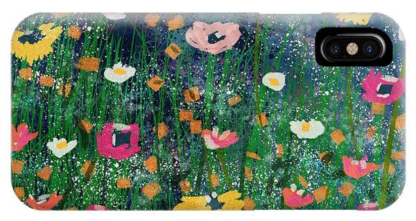 Floral iPhone Case - Wildflowers 2- Art By Linda Woods by Linda Woods