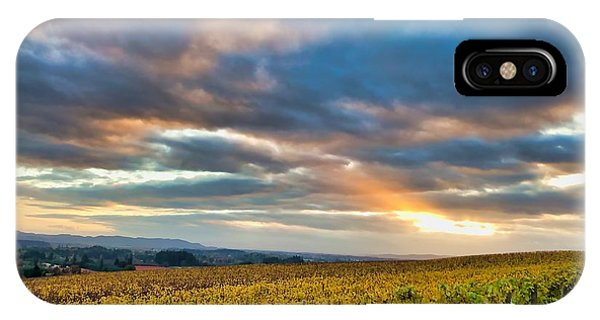 Willamette Valley In Fall IPhone Case