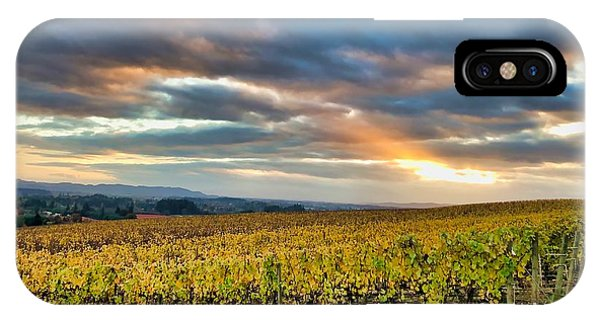 IPhone Case featuring the photograph Willamette Valley In Fall by Brian Eberly