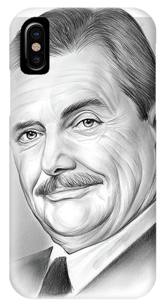Craig iPhone Case - William Daniels by Greg Joens