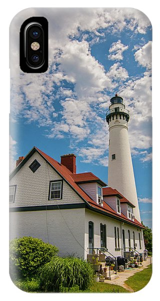 Wind Point Lighthouse No. 2 IPhone Case