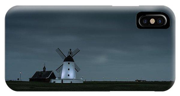 Windmill iPhone Case - Windmill  by Mark Mc neill