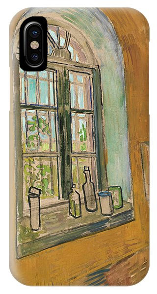 Van Gogh Museum iPhone Case - Window In The Studio by Vincent Van Gogh