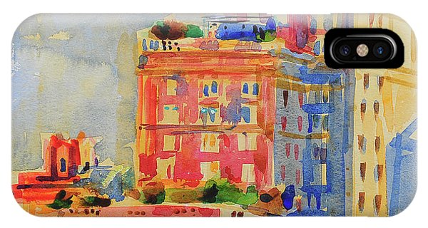 Imposing iPhone Case - Windows In The Upper East Side by Peter Graham