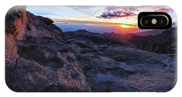Windy Point Sunset IPhone Case
