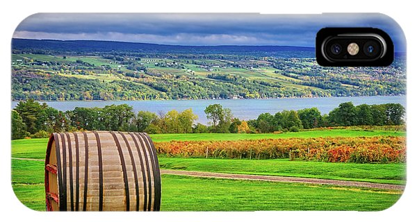 IPhone Case featuring the photograph Wine Country - Finger Lakes, New York by Lynn Bauer