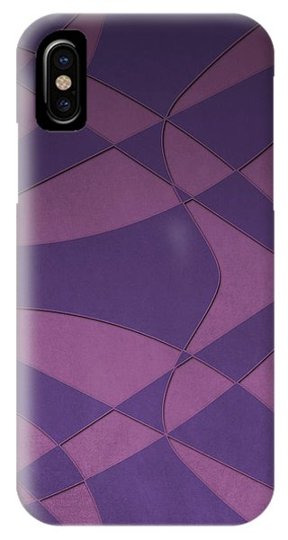 Wings And Sails - Purple And Pink IPhone Case