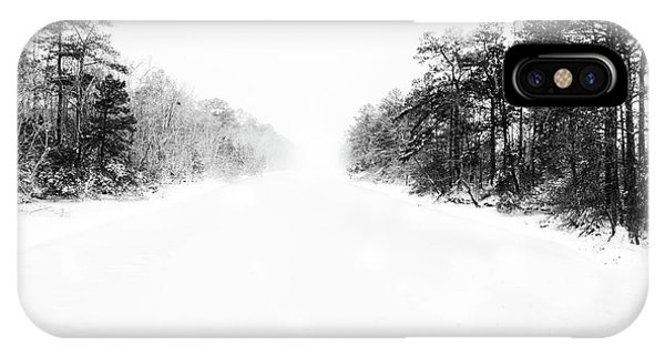 Winter Afternoon IPhone Case