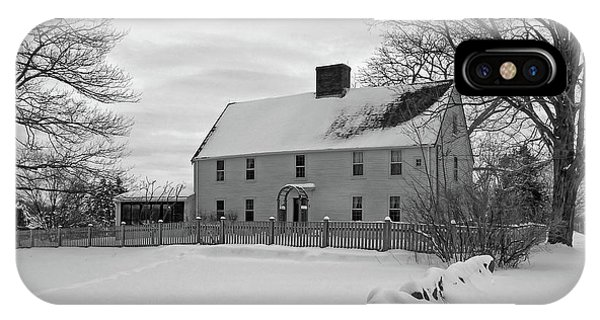 Winter At Noyes House IPhone Case