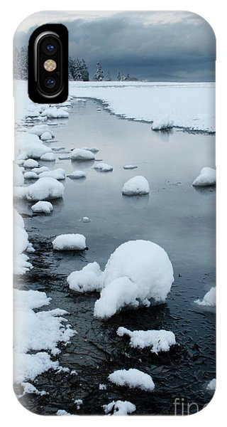iPhone Case - Winter At The Beach 3 by Bob Christopher