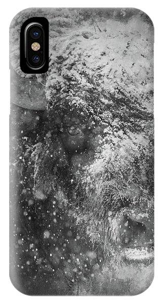 Winter Bison IPhone Case
