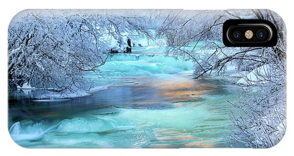 IPhone Case featuring the photograph Winter Brilliance And Beauty by Leland D Howard
