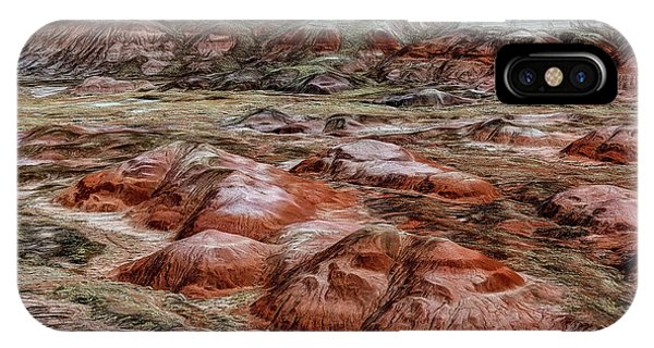 IPhone Case featuring the photograph Winter Colors Of The Painted Desert by Jon Burch Photography