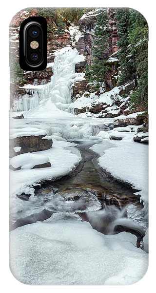 Winter Falls IPhone Case