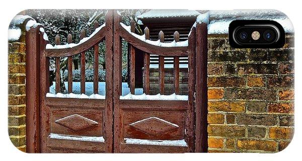 Winter Gate IPhone Case