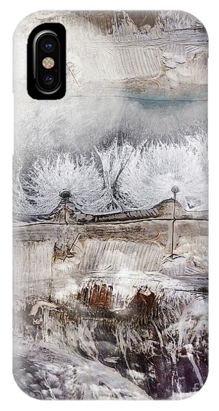 Moon iPhone Case - Winter by Jacky Gerritsen