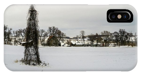 IPhone Case featuring the photograph Winter Land by Edward Peterson