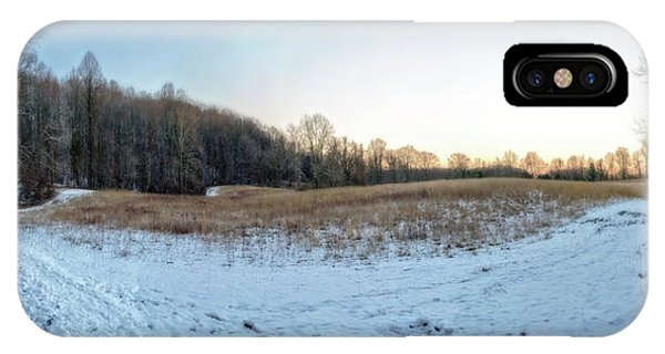 Kingsville iPhone Case - Winter Landscape Pano by Brian Wallace