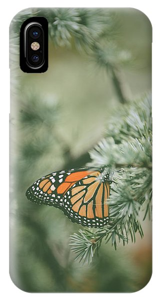 Winter Monarch IPhone Case
