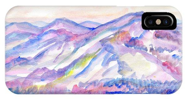 Winter Mountain Landscape IPhone Case