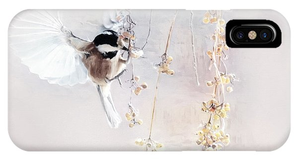 Winter Visitor IPhone Case