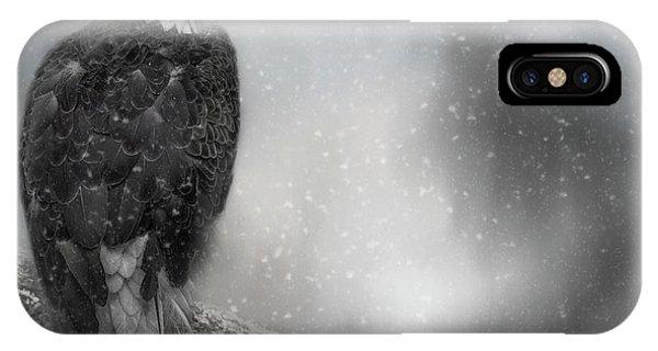 Winter Watcher IPhone Case