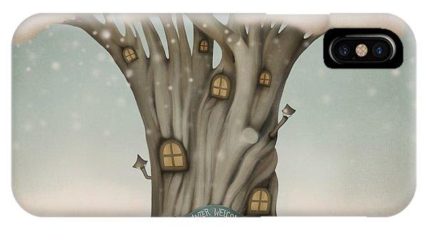 Heat iPhone Case - Winter Welcome by Larissa Kulik