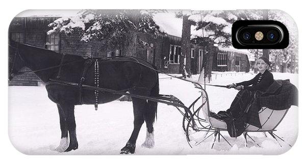 Horizontal iPhone Case - Winter Wonderland by Everett Collection