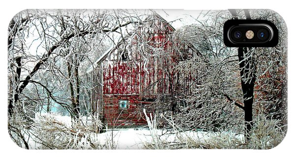 Agriculture iPhone Case - Winter Wonderland by Julie Hamilton