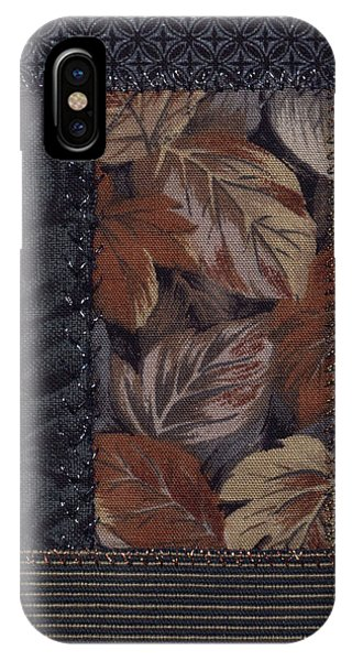 IPhone Case featuring the tapestry - textile Winter's Breath by Linda Mae Olszanski