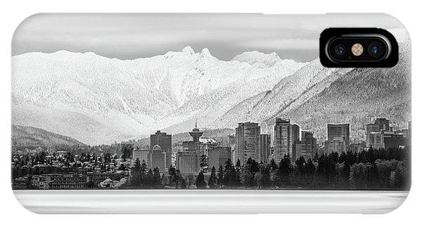 Winterscape Vancouver IPhone Case