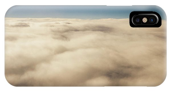 Above iPhone Case - Wispy Heavens  by Jorgo Photography - Wall Art Gallery