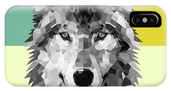 Lynx iPhone Case - Wolf by Naxart Studio