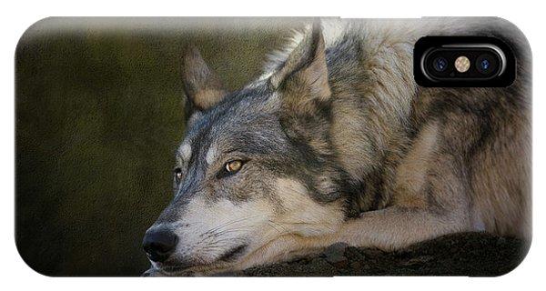 Wolf Watch IPhone Case