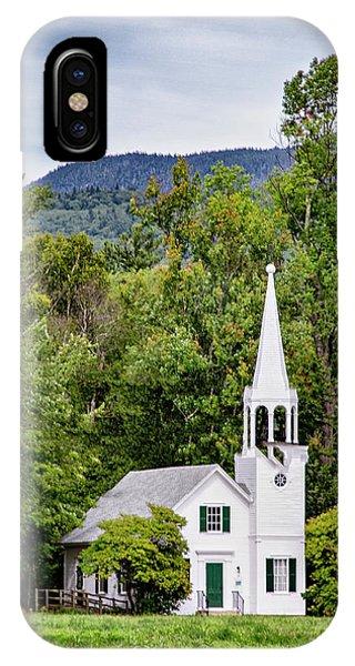 Wonalancet Union Chapel IPhone Case