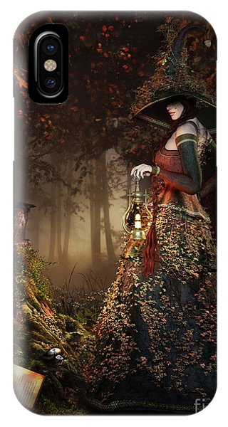 iPhone Case - Wood Witch by Shanina Conway