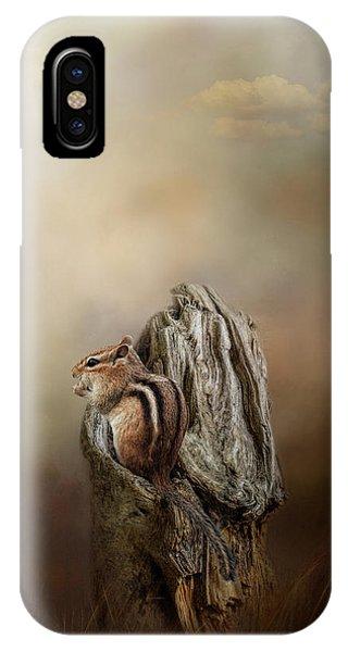 Woodland Visitor IPhone Case