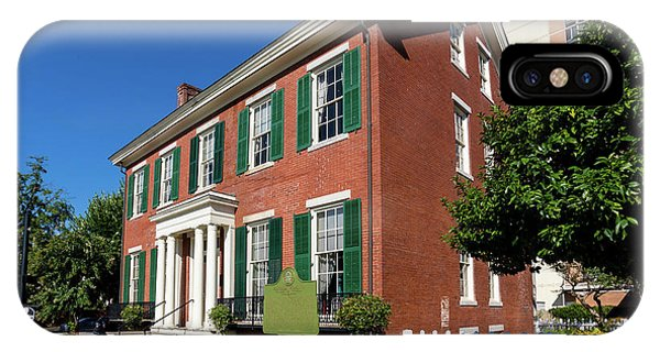 Woodrow Wilson Boyhood Home - Augusta Ga 2 IPhone Case
