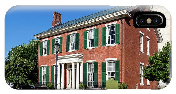 Woodrow Wilson Boyhood Home - Augusta Ga 3 IPhone Case