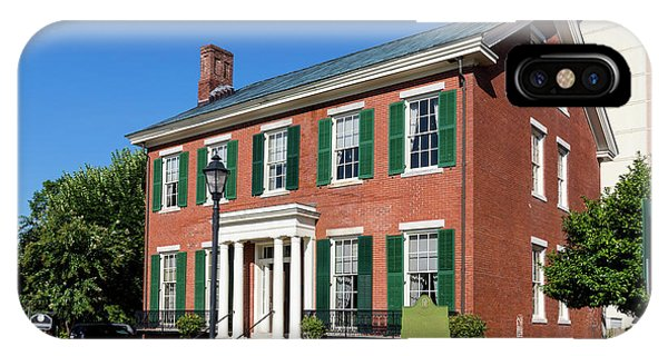 Woodrow Wilson Boyhood Home - Augusta Ga 3 IPhone Case