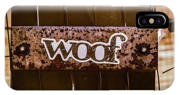 Woof IPhone Case