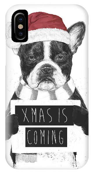 Winter iPhone Case - Xmas Is Coming by Balazs Solti