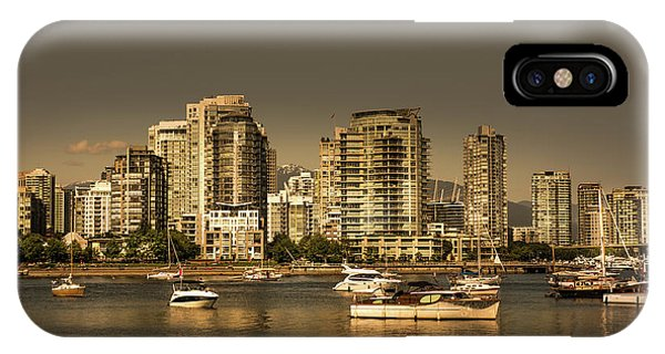 Yaletown Golden Hour IPhone Case
