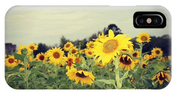 IPhone Case featuring the photograph Yellow Fields by Candice Trimble